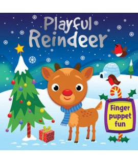 Reindeer's First Flight - Finger Puppet Fun
