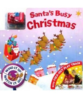 SANTA'S BUSY CHRISTMAS (with FOLD-OUT PLAY TRACK)
