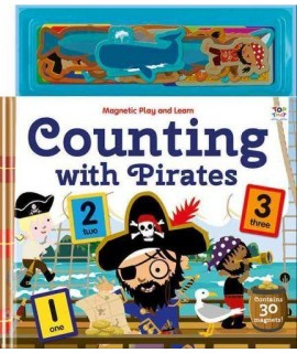 Magnetic Play and Learn Counting with Pirates
