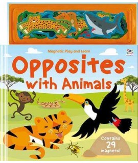 Magnetic Play and Learn Opposites with Animals