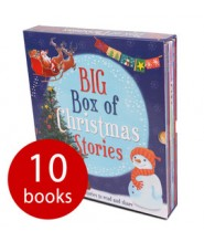 BIG BOX OF CHRISTMAS STORIES - 10 BOOKS