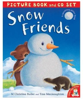 SNOW FRIENDS (Picture Book and CD set)