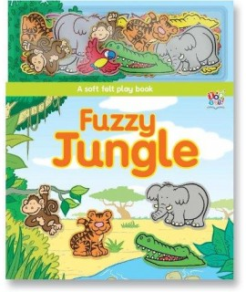FUZZY JUNGLE - A SOFT FELT PLAY BOOK