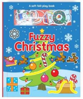 FUZZY CHRISTMAS - A SOFT FELT PLAY BOOK