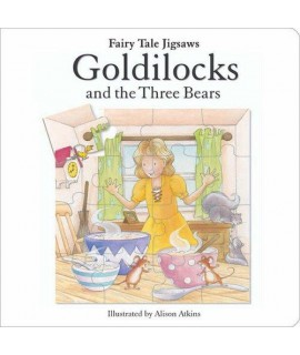 FAIRY TALE JIGSAWS-GOLDILOCKS AND THE THREE BEARS