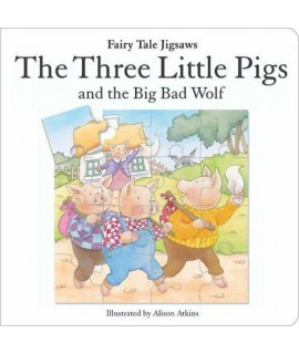 FAIRY TALE JIGSAWS - THE THREE LITTLE PIGS AND THE BIG WOLF