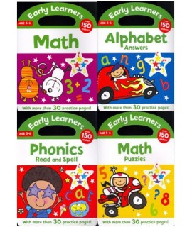 EARLY LEARNERS AGE 4-5 SET (4 BOOKS)
