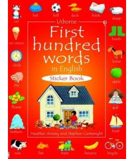 FIRST HUNDRED WORDS IN ENGLISH STICKER