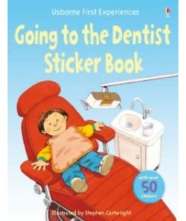 GOING TO DENTIST STICKER BOOK