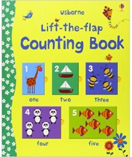 USBORNE - LIFT-THE-FLAP COUNTING BOOK