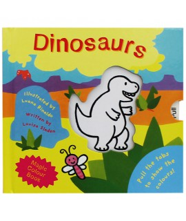 MAGIC COLOUR BOOK DINOSAURS