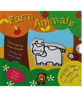 MAGIC COLOUR BOOK FARM ANIMALS