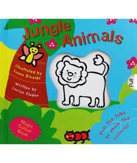 MAGIC COLOUR BOOK JUNGLE ANIMALS