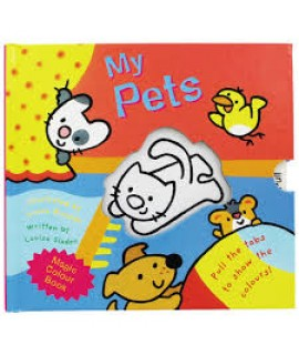MAGIC COLOUR BOOK MY PETS