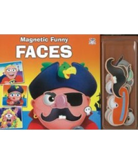 MAGNETIC FUNNY FACES