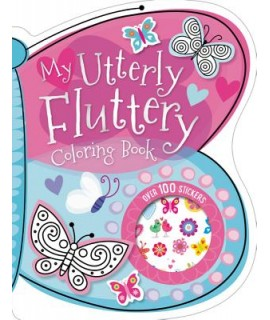 MY UTTERLY FLUTTERY STICKER ACTIVITY BOOK