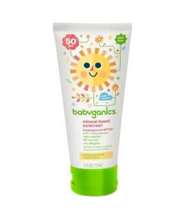 BABYGANICS SPF-50 寶寶防曬潤膚乳 6oz
