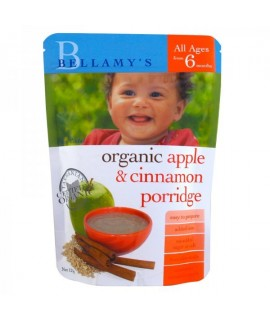 Bellamy's 有機蘋果肉桂粥 125g