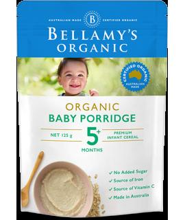 BELLAMY'S有機燕麥粥 125g