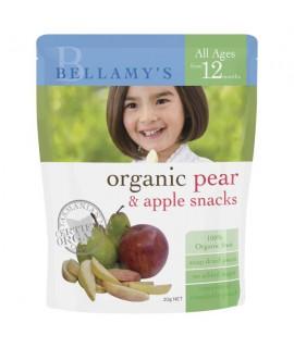 BELLAMY'S有機蘋果梨乾 20g