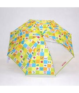 COME-ACROSS ERIC CARLE 小童雨傘 綠色 50cm