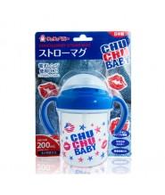 CHU CHU飲管學習杯(藍色) 200ML