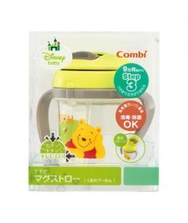 COMBI Teteo step 3 小熊維尼 飲管學習杯 230ml (9個月以上適用)