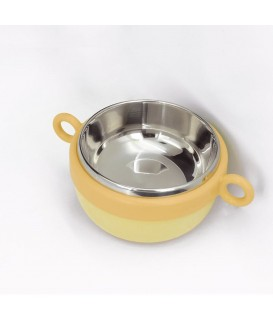 DODOPAPA 寶溫碗 (黃色)