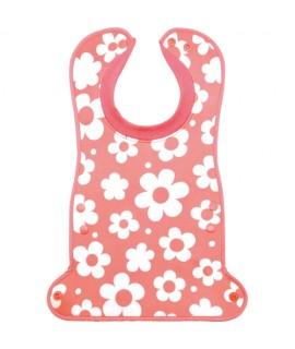 EDISON Babymo 口水肩(防漏衣領) 粉紅