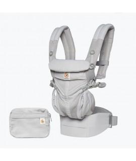 ERGOBABY OMNI 全階段型四式360嬰兒揹帶 - 透氣款 -  灰色