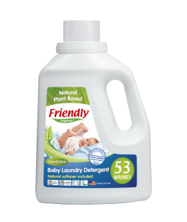FRIENDLY ORGANIC 嬰兒洗衣液 53OZ