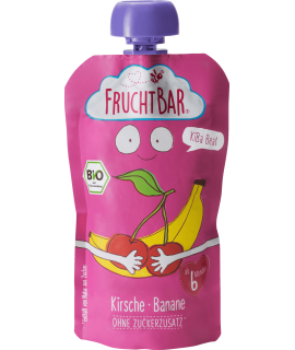 FRUCHTBAR 有機果蓉 - 櫻桃香蕉  120g
