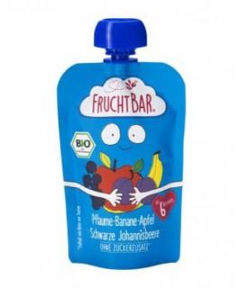 FRUCHTBAR 有機果蓉 - 西梅香蕉蘋果 100g