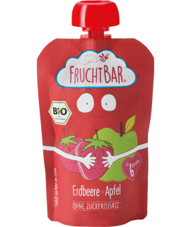 FRUCHTBAR 有機果蓉 - 草莓蘋果 100g
