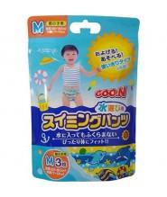 GOO.N 大王游水紙尿褲 M 中碼 男仔 3片(7-12kg)