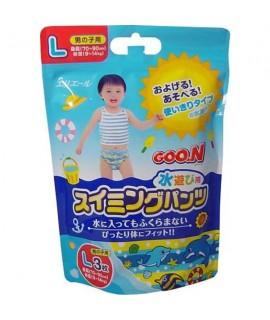 GOO.N 大王游水紙尿褲 L 大碼 男仔 3片 (9-14kg)