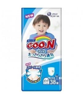 GOON 大王學習紙尿褲 BIG(XL) 加大碼男仔38片(12-20kgs)