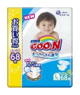 [JUMBO] GOON 大王紙尿片 L 大碼68片(9-14kgs)