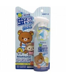 白元鬆弛熊 清涼UV防蟲噴霧 - 香皂味 (布用) 100ml