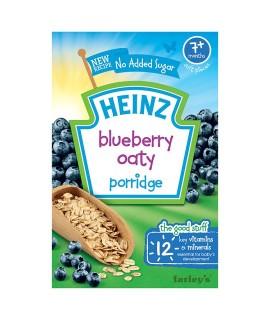 HEINZ亨氏 藍莓米糊 120克