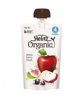 HEINZ亨氏 有機唧唧裝蘋果雜莓蓉