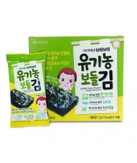 IVENET貝貝 有機營養紫菜 (2g x 10包)
