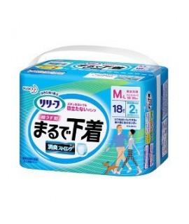 KAO 成人尿片 M-L 18 (2回分)