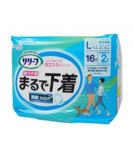 KAO 花王成人尿片 L-LL 16 (2回吸收)