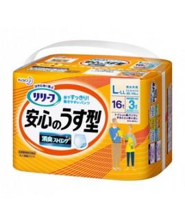 KAO 花王成人尿片 L-LL 16 (3回吸收)