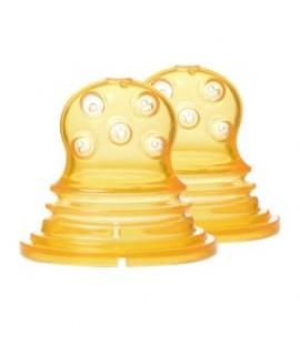 KIDSME 咬咬樂輔食器(擠壓式)網袋替換2件裝 (圓孔)