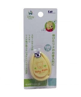 KAI貝印 小熊維尼嬰兒專用指甲鉗(連蓋)