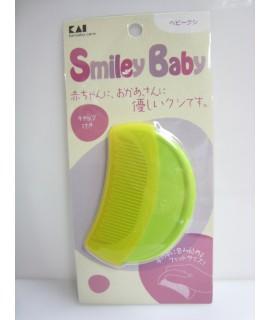 KAI 貝印 Smiley Baby 嬰兒扁梳(附蓋) KF-0151