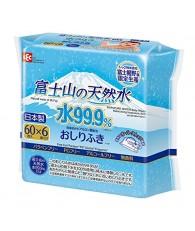 LEC 富士山天然水 99.9% 濕紙巾 60PX6包