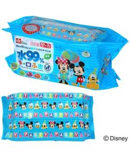 LEC 米奇米妮 99%水份嬰兒手、口專用濕紙巾 60片 X 3包